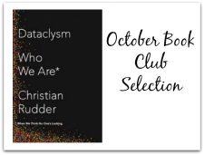 Join me and @FromLeft2Write as we discuss @christianrudder latest release: Dataclysm #ad