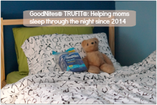 GoodNites* TRUFIT*: Helping Moms Sleep through the Night