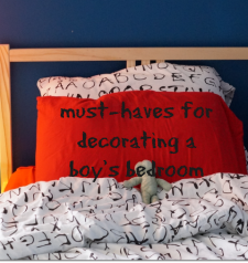 Must Haves for Decorating a Boy's Bedroom: Carpet and More