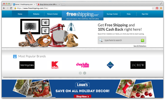 Holiday Shopping Strategy for 2014 #LoveFreeShipping #CleverGirls #ad