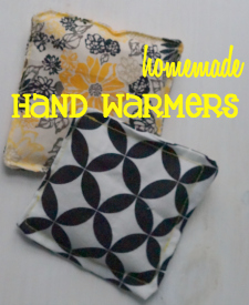Make these Homemade Hand Warmers and serve #PotPiePlease #ad