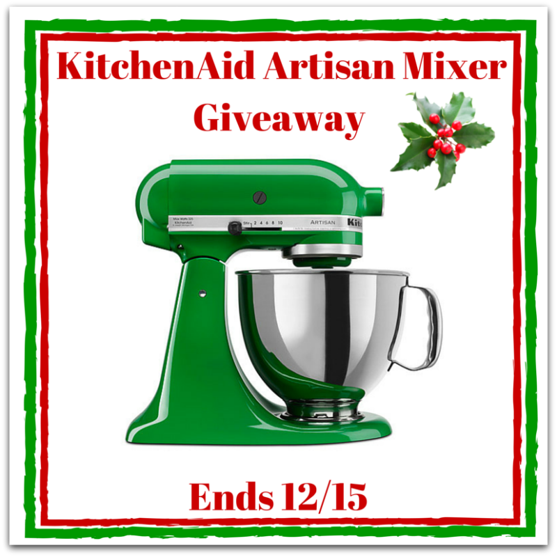 Enter the Reader Appreciation #Giveaway for a chance to #win a #KitchenAid mixer from @naptimeismytime