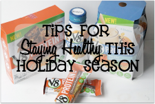 Tips for Staying Healthy This Holiday Season #LoveV8Protein #ad