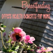 Breastfeeding offers benefits for moms, too. #YahooParenting #CG