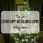 Tips to Staying Happy and Balanced During Holiday Season