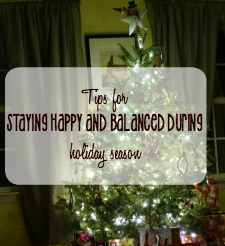Great tips from @naptimeismytime on how to stay healthy and balanced during Holiday Season! #McDEasterNE #ad