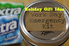 Holiday Gift Idea: Work Day Emergency Kit with #ExtraGumMoments #ad