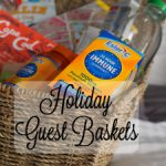 Holiday Guest Baskets with Vitamin C