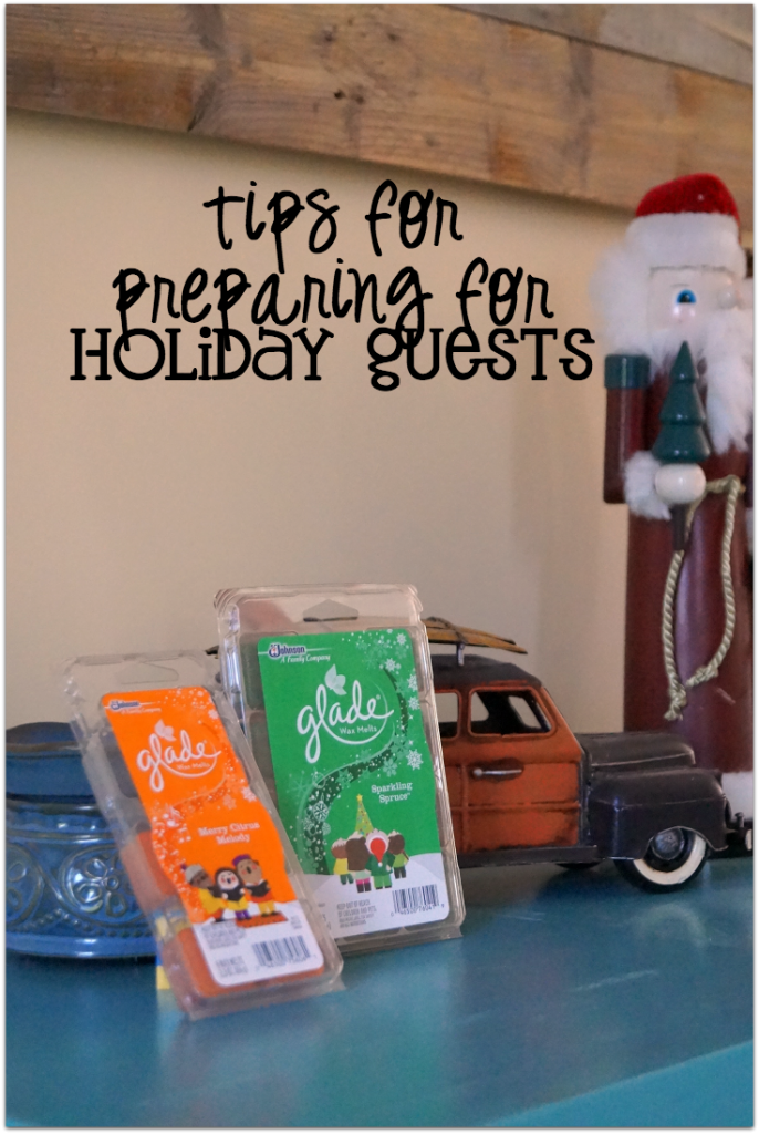 Tips for Preparing for Holiday Guests and making sure your home #SmellsClean #ad