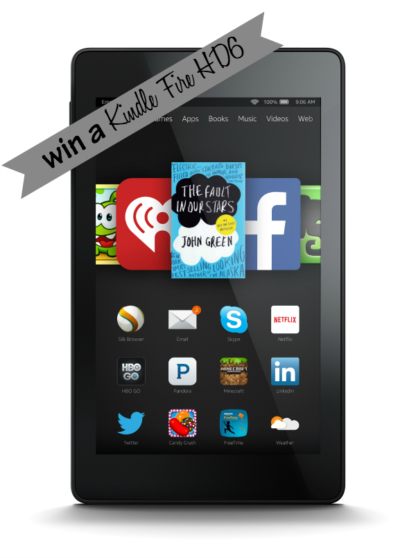 January Reader Appreciation Kindle Fire Giveaway