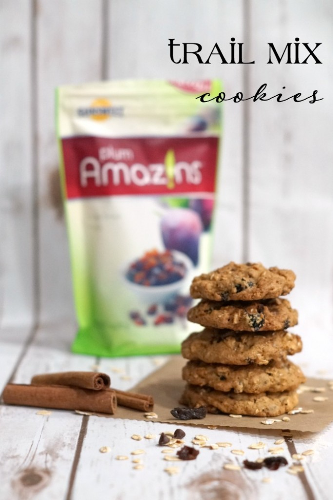 Delicious trail mix cookies made with diced prunes #TheFeelGoodFruit #CG #ad