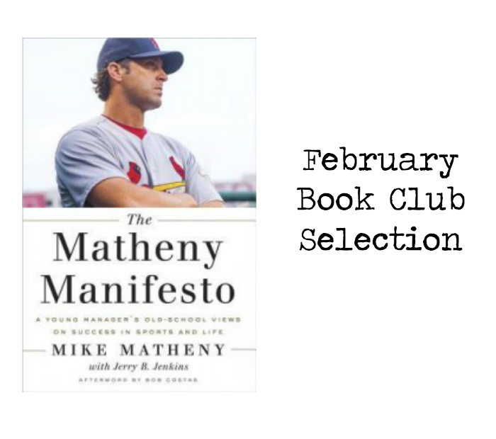 Join me and @FromLeft2Write as we discuss @mikematheny22 latest release: The Matheny Manifesto #ad #MathenyManifesto