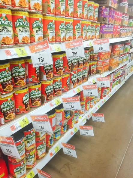 Great Low Price Meal Ideas from Chef Boyardee on Rollback at Walmart #ad #LowPriceMeals