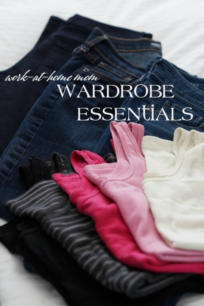 It's easy to feel overwhelmed with wardrobe choices. These Work at Home Mom Wardrobe Essentials simplify things for you! #OpticSmiles #ad