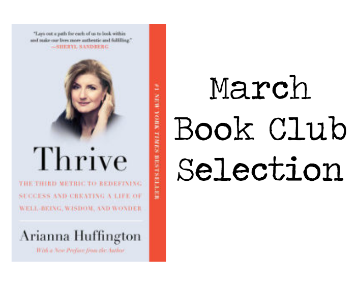 Join me and @FromLeft2Write as we discuss how @ariannahuff is inspiring us to Thrive in our own ways #ad #Thrive