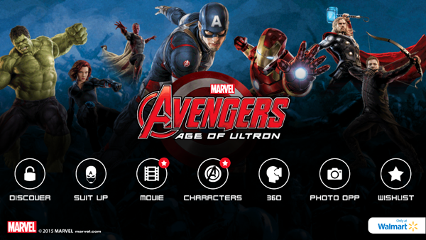 Get ready for MARVEL's The Avengers: Age of Ultron with the Super Heroes Assemble App! #AvengersUnite #ad
