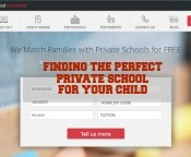 With Private School Innovator, you can be easily matched with a private school that is a perfect fit for your child. #MatchWithSchools #ad