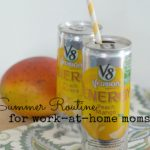 A Summer Routine For Work At Home Moms
