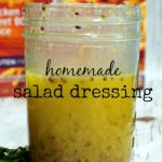 An Easy Homemade Salad Dressing Recipe