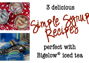 mpress your friends by kicking up your iced tea this summer with these three simple syrup recipes. Your tastebuds will thank you. #MeAndMyTea #ad