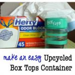 Make This: An Upcycled Box Tops Container