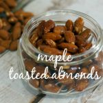 Maple Toasted Almonds