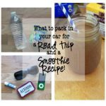 What to Pack in Your Car for a Road Trip and an Iced Coffee Smoothie Recipe