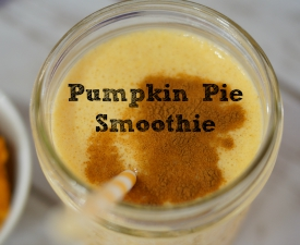 Quick and Delicious: Pumpkin Pie Smoothie