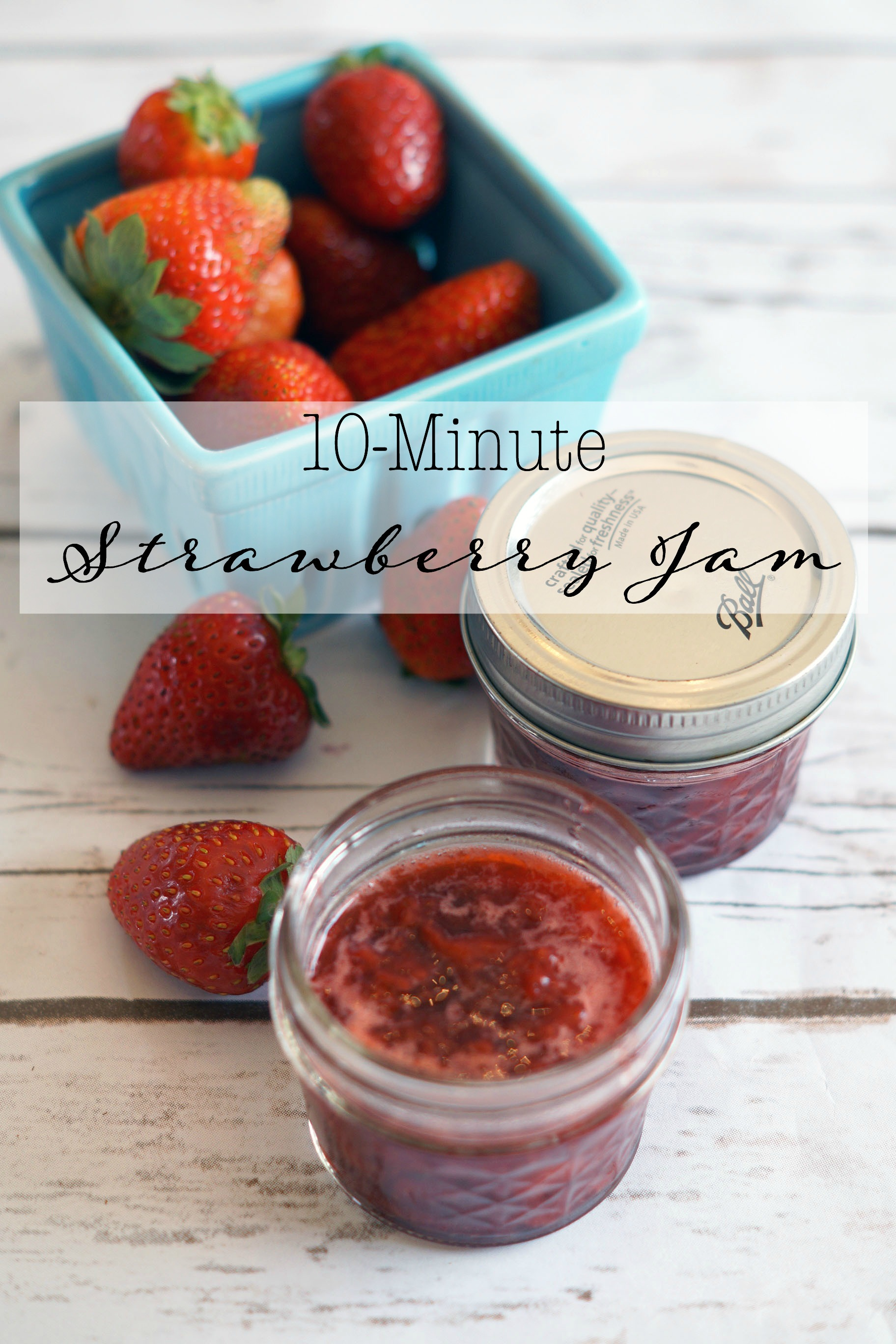 Perfect for Breakfast: Quick Strawberry Jam