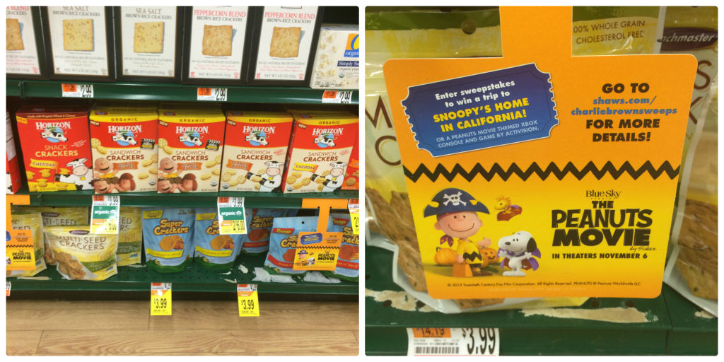 These better for you snack ideas were inspired by the #peanutsmovie Grab everything you need at #shaws #ad