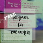Cat Lovers: Grab this Great Printable and Learn about Muse Cat Food