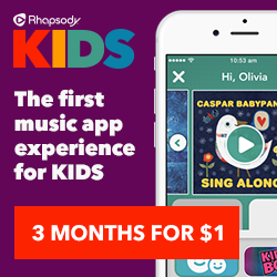 Streaming Music for Kids with Rhapsody KIDS