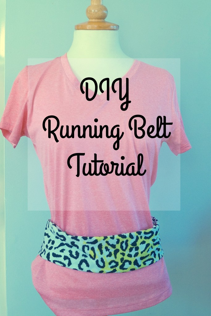 Love to exercise but no where to put your snacks and essentials? Check out this easy DIY Running Belt #TryALittleGoodness AD