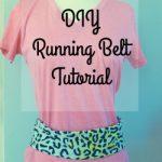 DIY Running Belt Tutorial