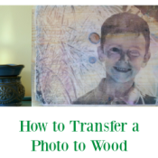 Looking for the perfect holiday photo gift? Follow this easy photo to wood tutorial and your gifts will be ready in no time! AD #SaveYourMemories