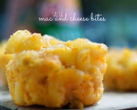 Salsa Mac and Cheese Bites