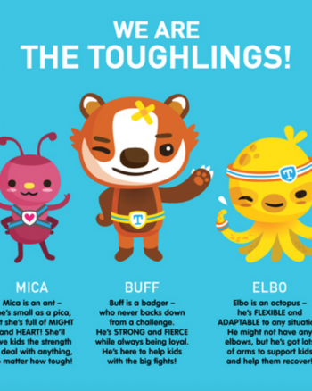 Meet the Toughlings at Floating Hospital for Children #FloatingHospital AD
