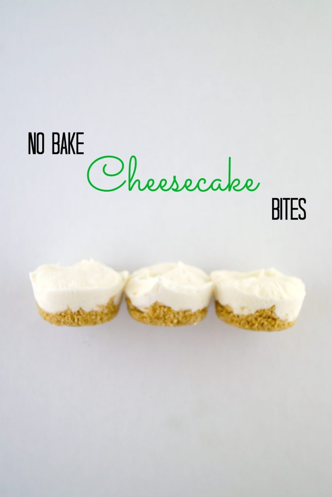 Make this no bake cheesecake bites recipe and bring #SweetExcitement to your dessert table! AD