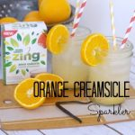 Orange Creamsicle Sparkler