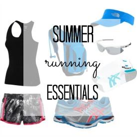 Summer Running Essentials for Women