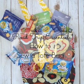 Learn how to make a tote bag and #GetPackin for your road trip @Walmart AD
