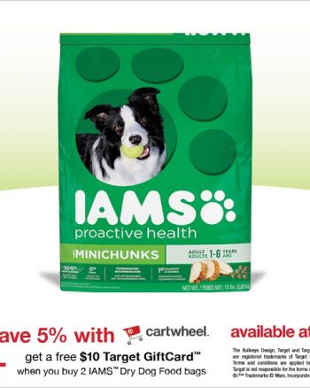 Check out the #IAMSDogDeal at #Target AD