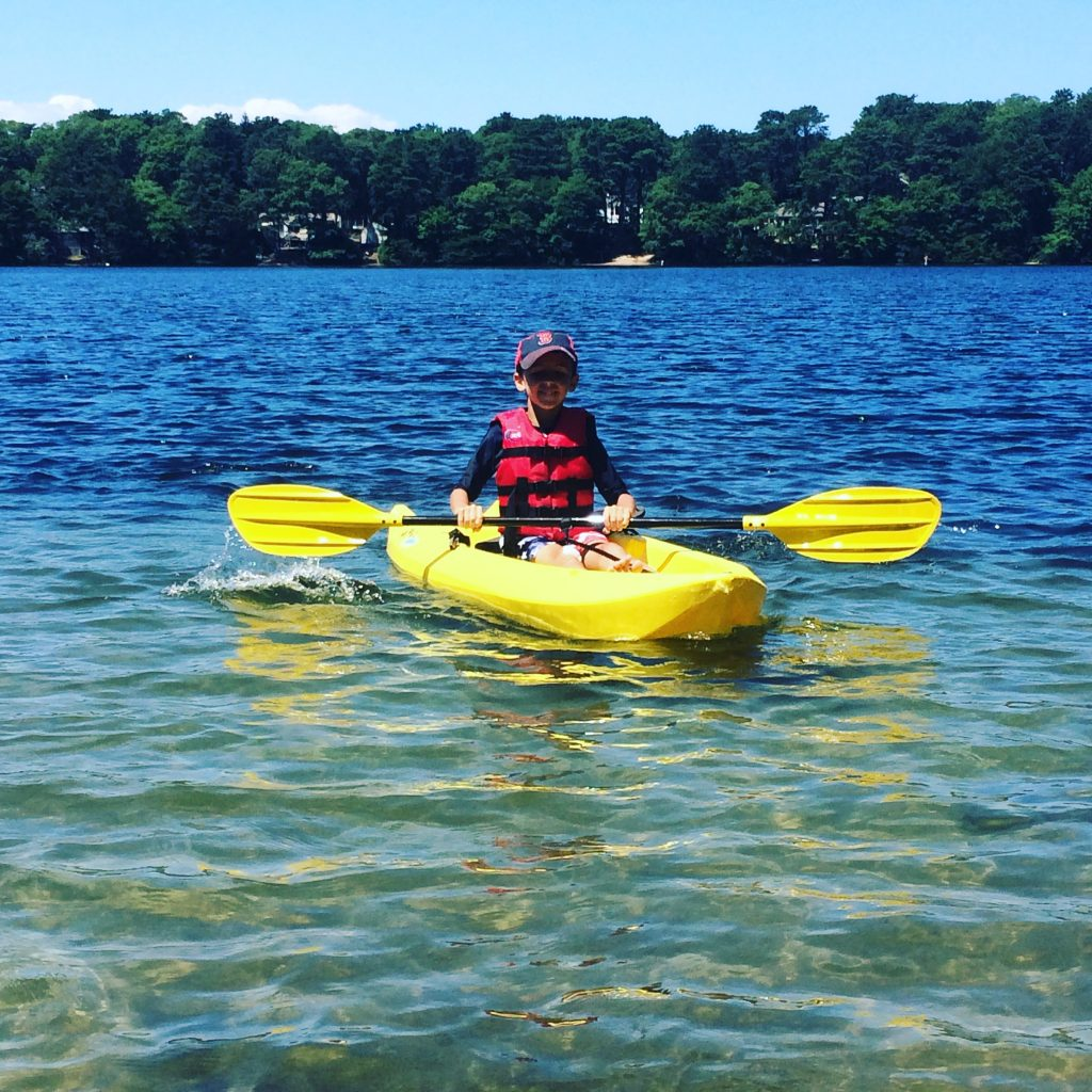 Kayaking on Cape Cod