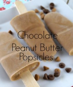 Make This:: Easy Chocolate Peanut Butter Popsicle Recipe