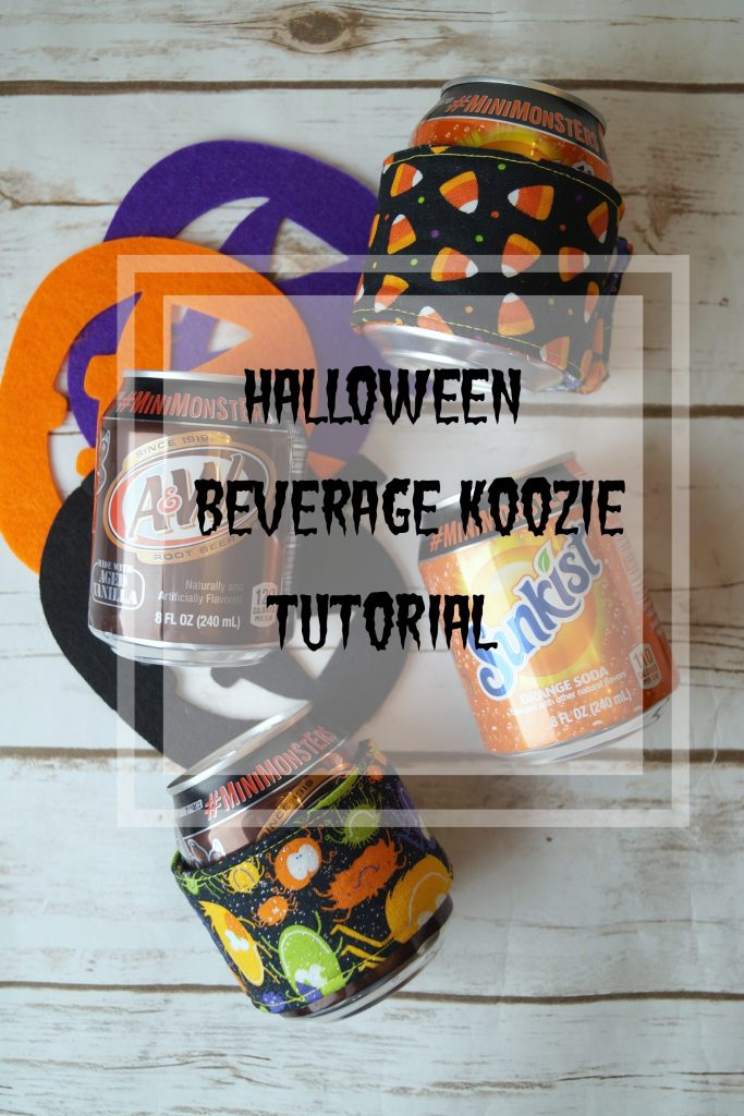 Tired of cold hands? Follow this simple beverage koozie tutorial! #WalmartMonsters #MiniMonsters #Walmart AD