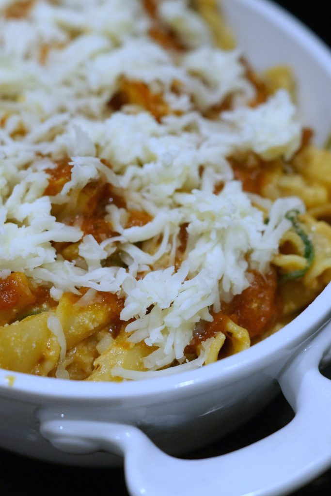 Perfect Fall Meal:: Baked Chicken Ricotta Pasta