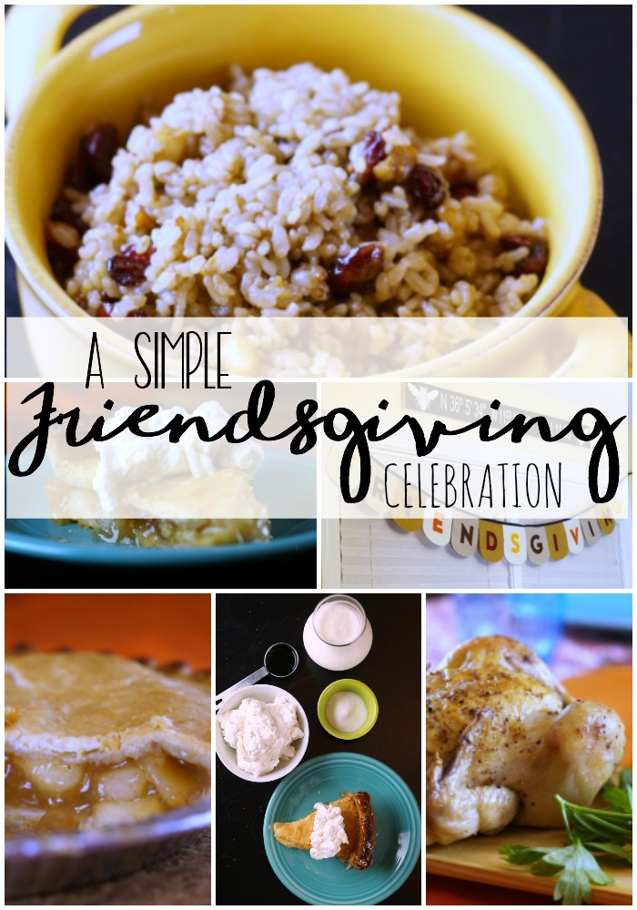 Ad: Check out my simple Friendsgiving Celebration and get a recipe for cranberry walnut rice and homemade whipped cream #LoveThisHolidayTwist
