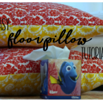 Simple Sewing Project:: An Easy Floor Pillow Tutorial