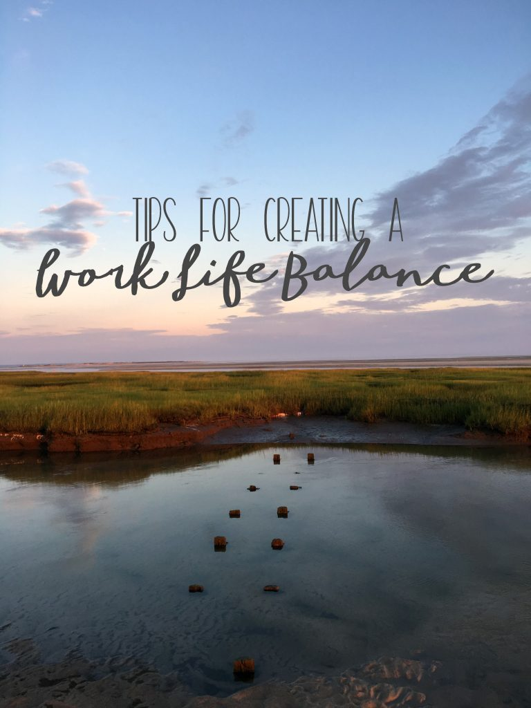 These Tips for Creating a Work Life Balance Worked for Me! #ad