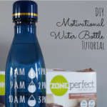 Healthy Living:: DIY Motivational Water Bottle Tutorial